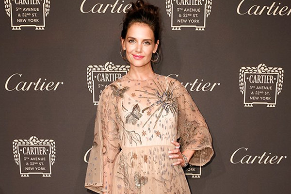 Katie Holmes på Cartier opening