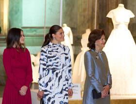 Kungliga brudklänningar utställning på Kungliga slottet i Stockholm