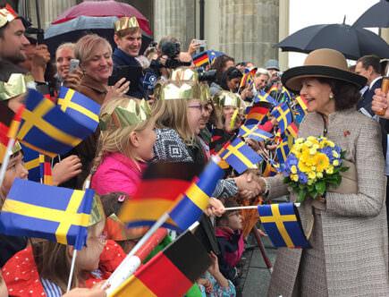 Drottning Silvia i Tyskland