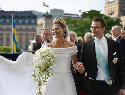 Kronprinsessan Victoria och prins Daniel, bröllopet