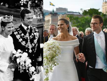 Kungaparets och kronprinsessparets bröllop