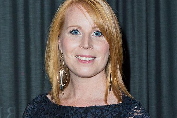 Annie Lööf inför Nobelfesten 2016.