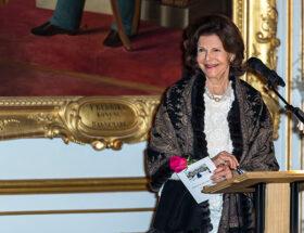 Drottning Silvia på Drottningholms slott