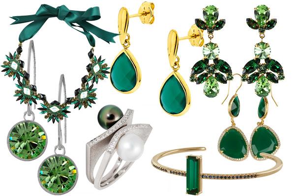 Gröna smycken, accesoarer
