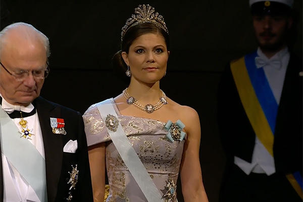 Kronprinsessan Victoria Nobel 2016