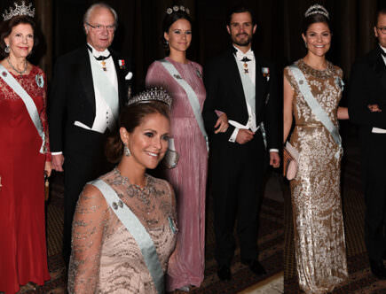 Kungens middag för Nobelpristagarna 2016.