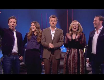 Prinsessan Madeleine, Chris O'Neill, Adele, Jamie Oliver gästar talkshowen Skavlan