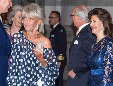 Prinsessan Birgitta, drottning Silvia