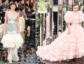 Chanel visade sin Haute couture-kollektion under modeveckan i Paris.