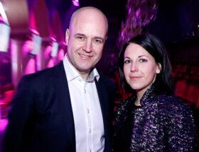 Fredrik Reinfeldt och Roberta Ahlenius väntar barn