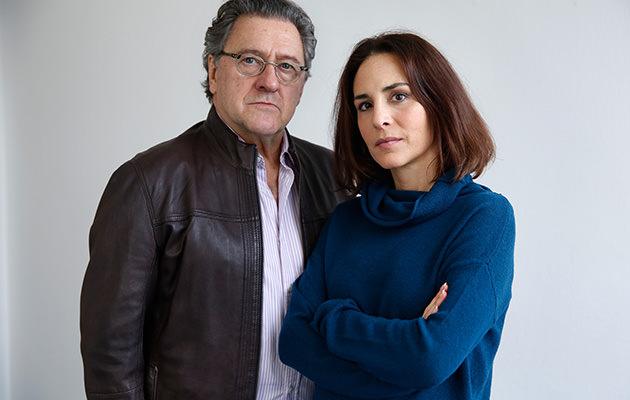 Tommy Körberg och Alexandra Rapaport