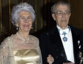 Grevinnan Gunnila och greve Carl Johan Bernadotte.