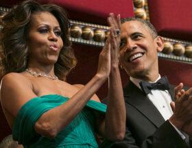 Michelle och Barack Obama