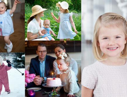 Grattis prinsessan Estelle 5 år