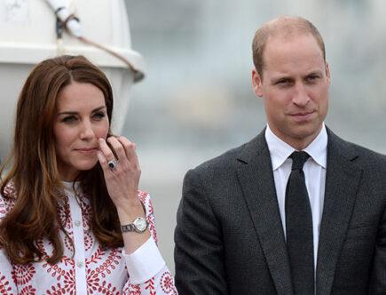 Hertiginnan Kate och prins William