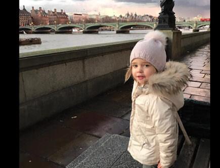 PRinsessan Leonore i London