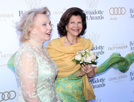 Marianne Bernadotte och drottning Silvia