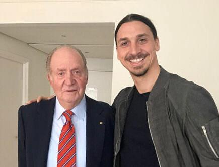 Kung Juan Carlos och Zlatan