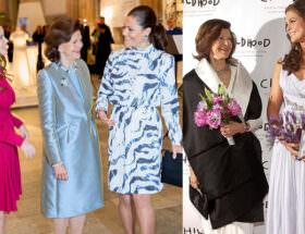 Drottning Silvia, kronprinsessan Victoria, prinsessan Sofia och prinsessan Madeleine