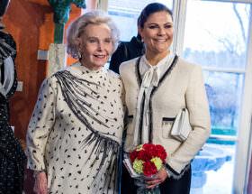 Marianne Bernadotte och kronprinsessan Victoria