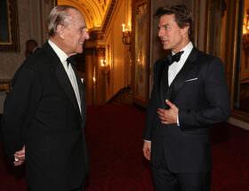 Prins Philip och Tom Cruise