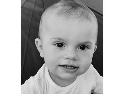 Prins Oscar 1 år