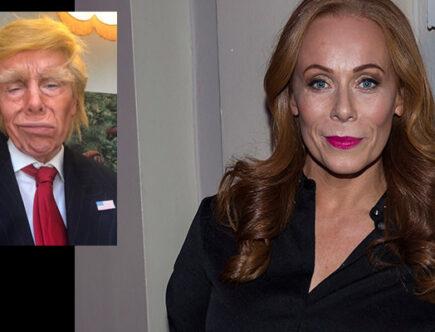 Rachel Mohlin som Trump