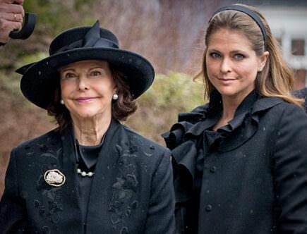 Drottning Silvia och prinsessan Madeleine