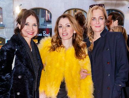 Annika Jankell, Alexandra Pascalidou och Lia Boysen.