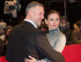 Mikael Persbrandt och Sanna Lundell
