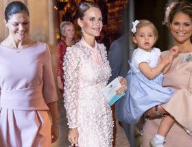 Kronprinsessan Victoria, prinsessan Sofia, prinsessan Leonore och prinsessan Victoria