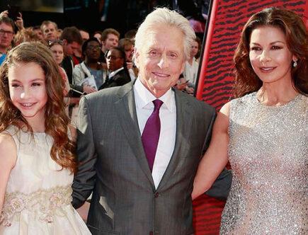 Carys Zeta-Jones, Michael Douglas, Catherine Zeta-Jones