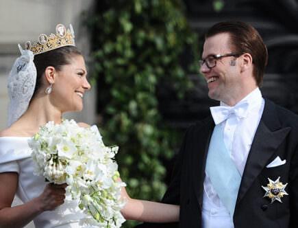 Kronprinsessan Victorias och prins Daniels fantastiska bröllop