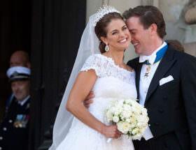 Prinsessan Madeleine och Chris O'Neill bröllop
