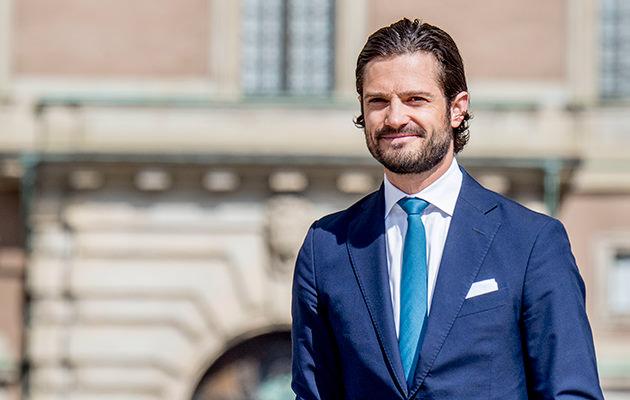 Stockholm slott prins Carl Philip