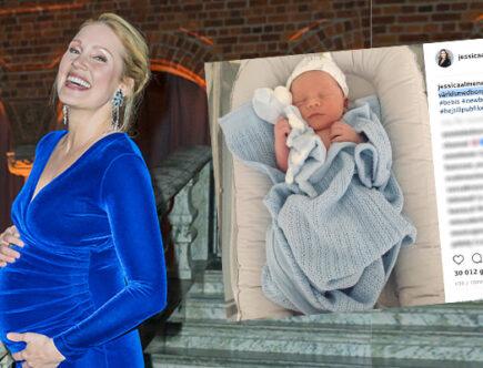 Jessica Almenäs bebis