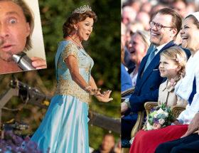Kronprinsessan Victoria och Christer Lindarw