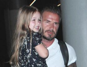 Harper och David Beckham