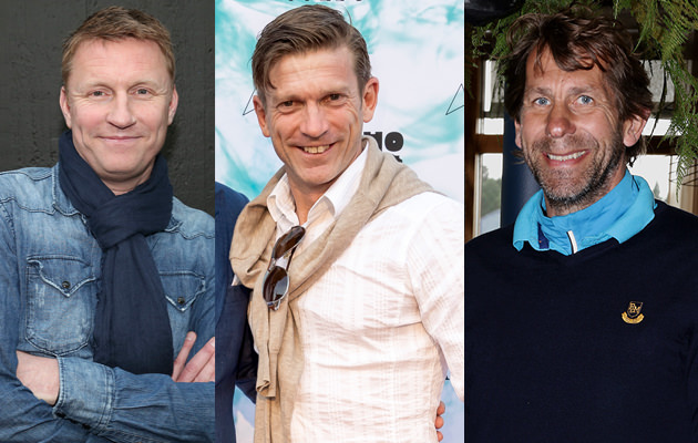 Kennet Andersson, Jesper Blomqvist,och Magnus Wislander.