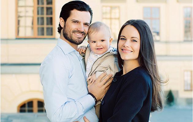 Prins Carl Philip, prinsessan Sofia och prins Alexander