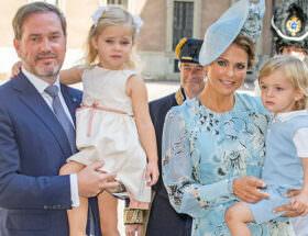 Prinsessan Madeleine väntar barn