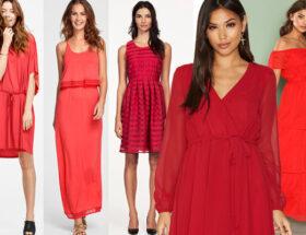 Röda klänningar