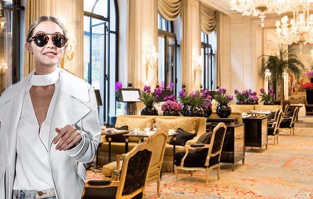 Gigi Hadid at Four Seasons