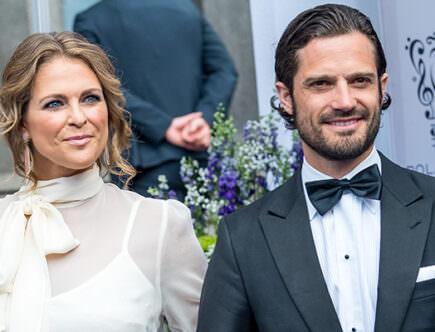 Prinsessan Madeleine och prins Carl Philip
