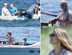 Kungen och Drottning Silvia på Franska Rivieran