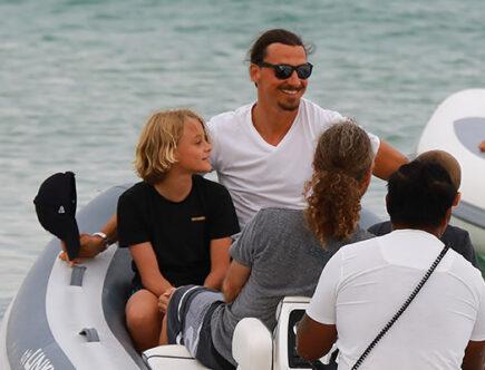 Zlatan Ibrahimovic, Maximiliam och Vincent