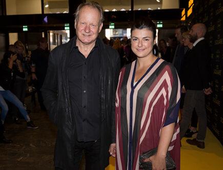 Stellan Skarsgård och Megan Everett