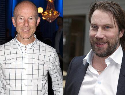 "Ingemar Stenmark och Peter ""Foppa"" Forsberg"