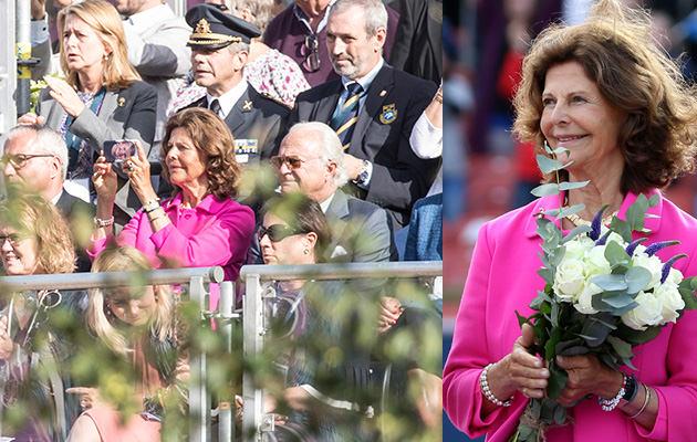 Drottning Silvia och kungen Ullevi