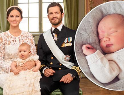 Prinsessan Sofia, prins Alexander, prins Carl Philip och prins Gabriel